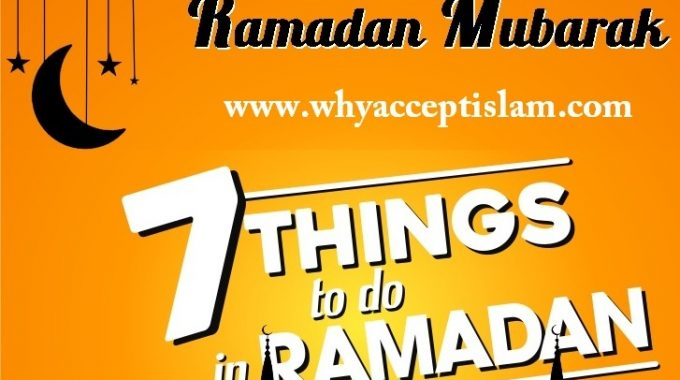 7 Amazing Things You Can Do in the Holy Month of Ramadan